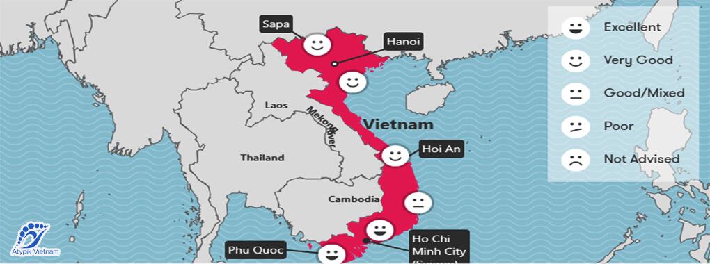 Météo Vietnam avril