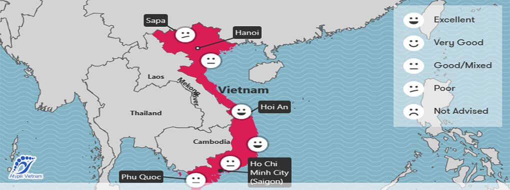 Météo Vietnam juin
