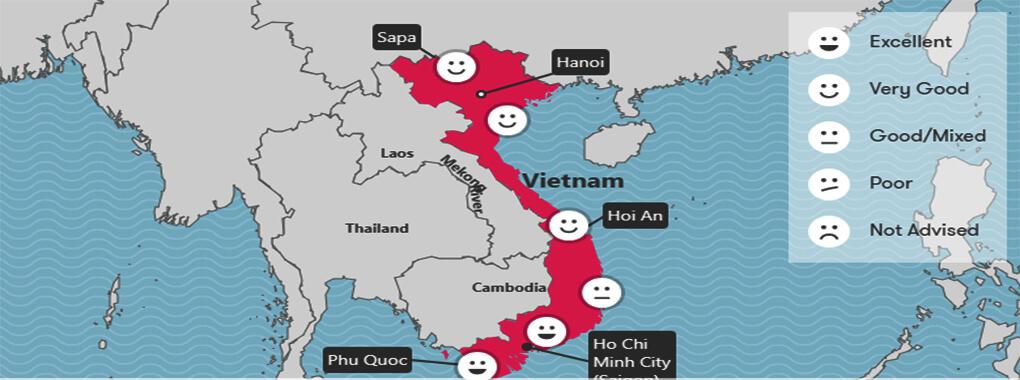 Météo Vietnam mai