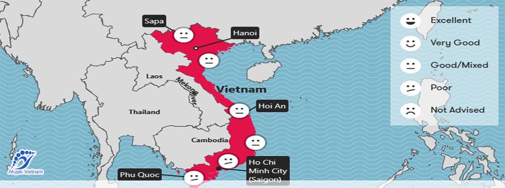 Météo Vietnam septembre