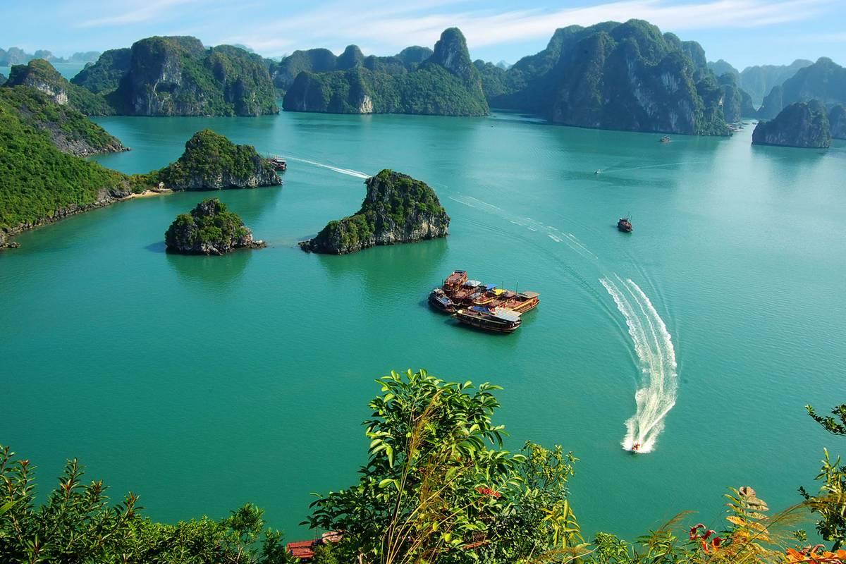 Admirer la baie primitive de Bai Tu Long