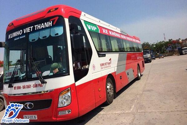 Bus de Hanoi à la baie d'Halong