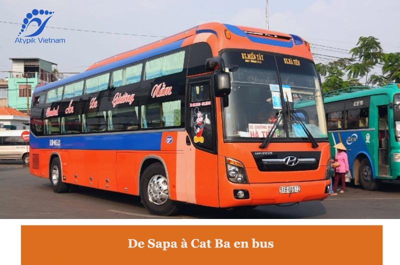 De Sapa à Cat Ba en bus