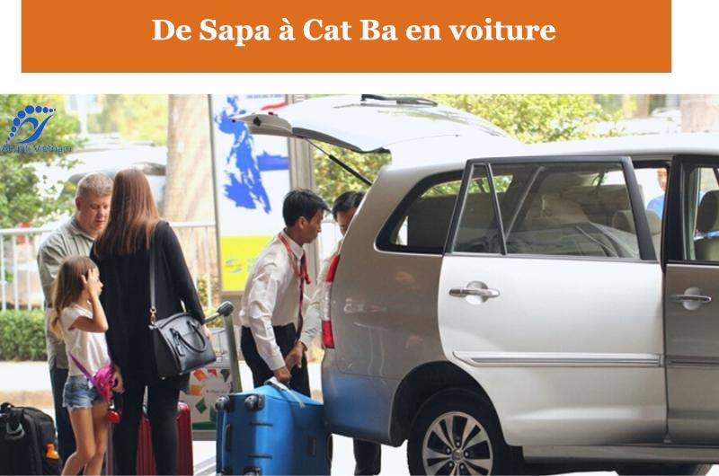 De Sapa à Cat Ba en voiture privée