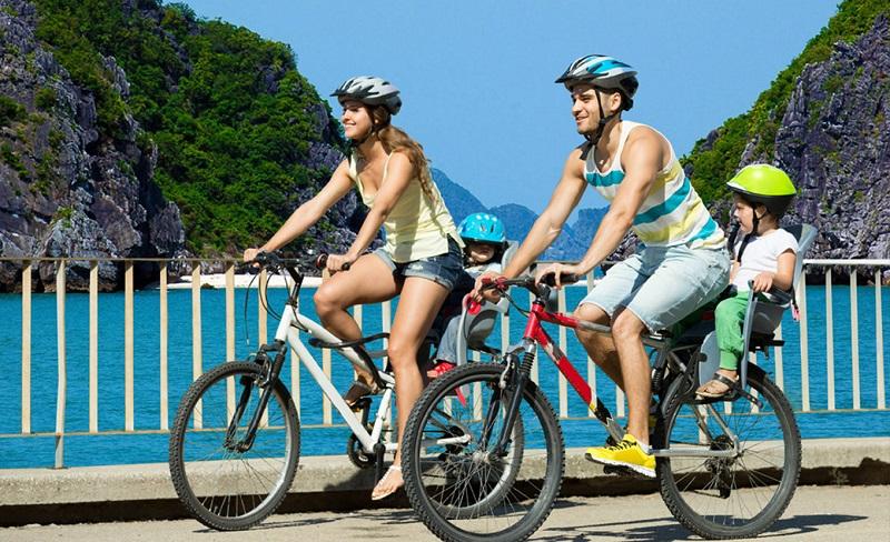 Faire du vélo sur les sentiers hors des sentiers battus