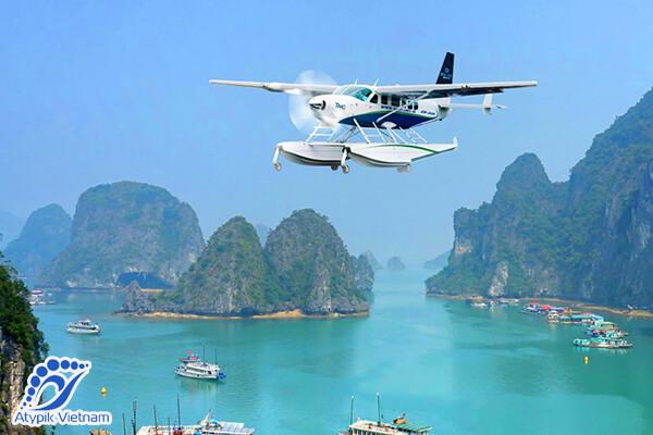 Hydravion de Hanoi à la baie d'Halong