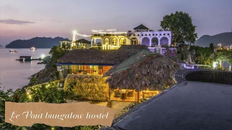 Le Pont bungalow hostel