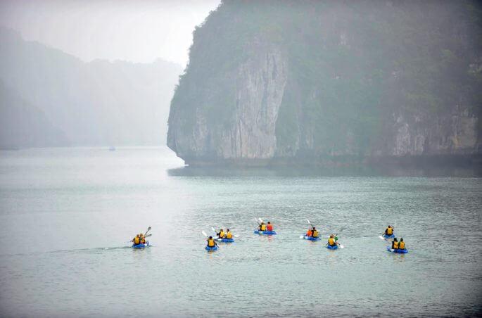 Météo de la baie d'Halong en automne