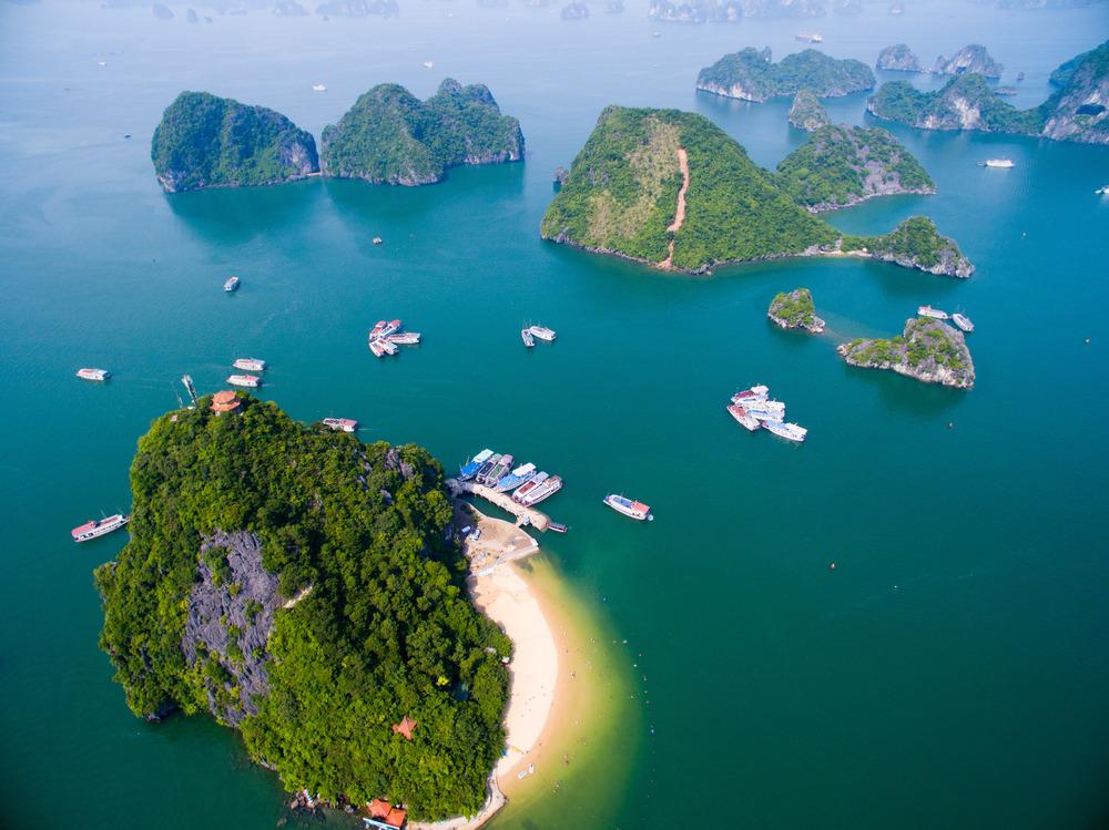 Météo en avril vietnam baie d'halong