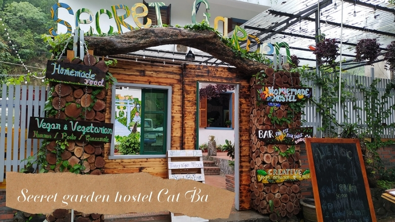 Secret garden hostel Cat Ba