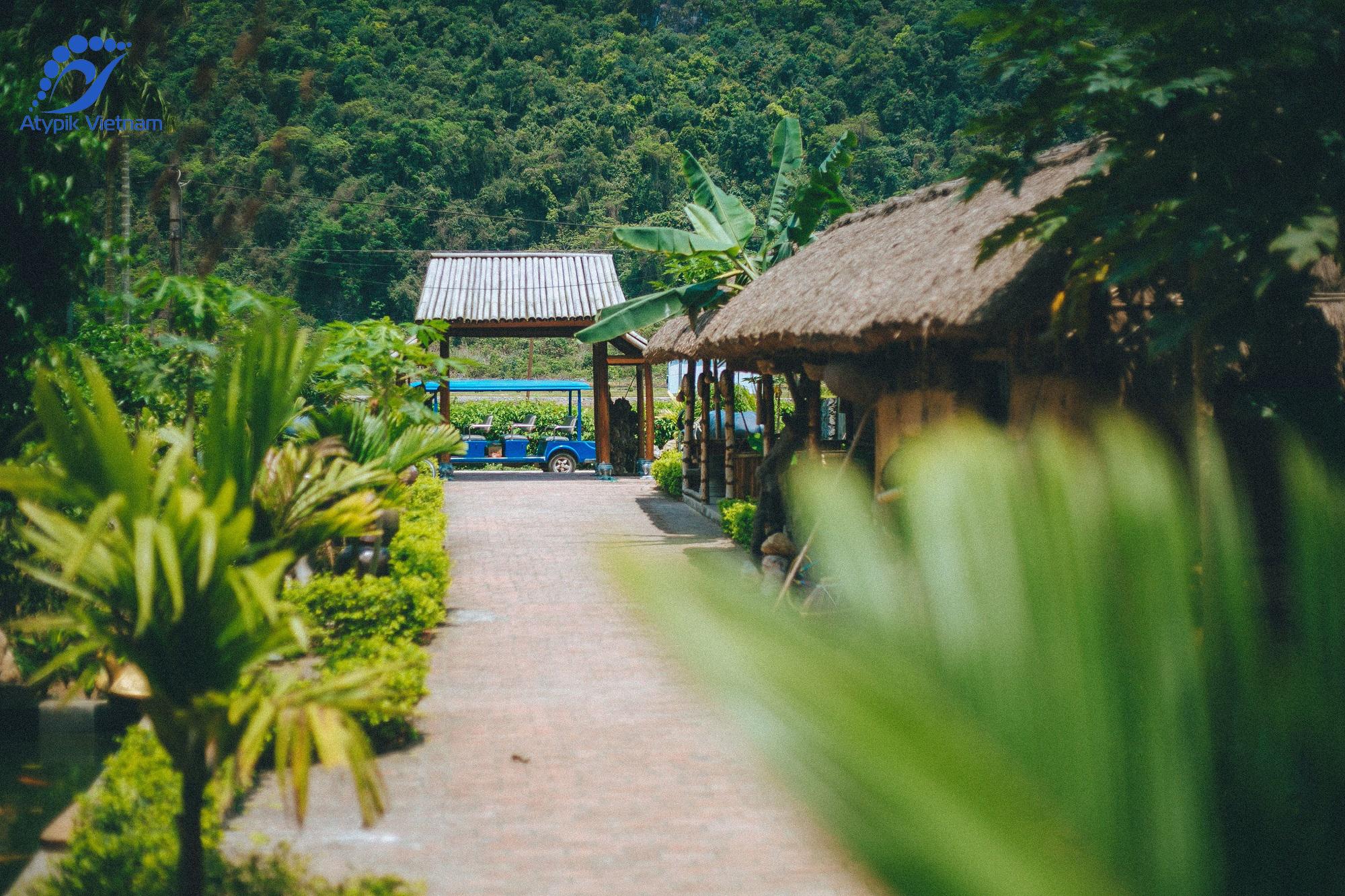 Visite du village de Viet Hai