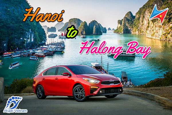 Voiture privée de Hanoi à la baie d'Halong