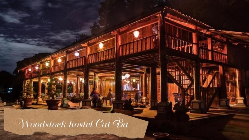 Woodstock hostel Cat Ba