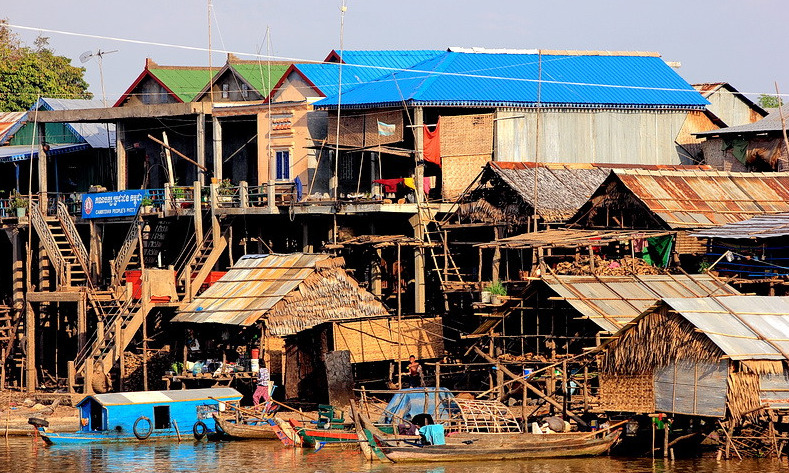 au fil du mekong Kampong Chhnang