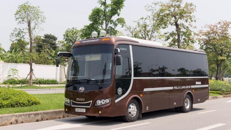 bus de Hanoi à l'île de Cat Ba