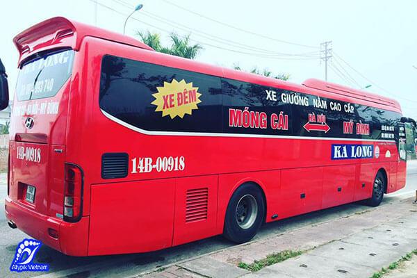 bus de hanoi baie d'halong