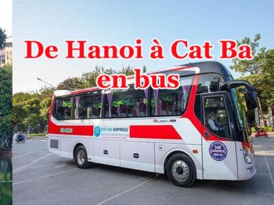 hanoi cat ba en bus