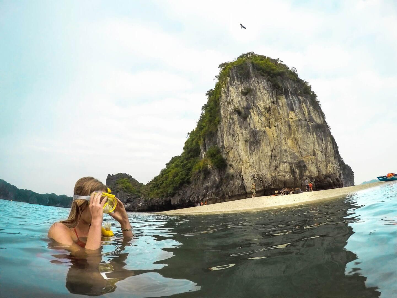 plonger en apnée dans les fonds marins