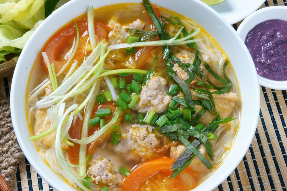 Déjeuner au marché Cho Bop