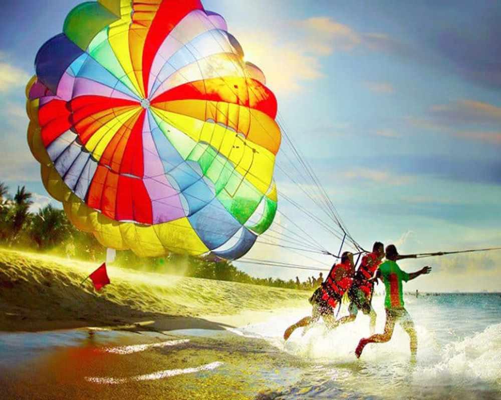 Essayez le parachute ascensionnel