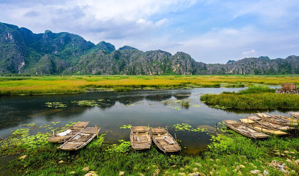 Explorez la réserve naturelle de Van Long