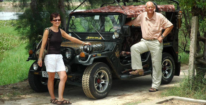 Faites un tour en jeep