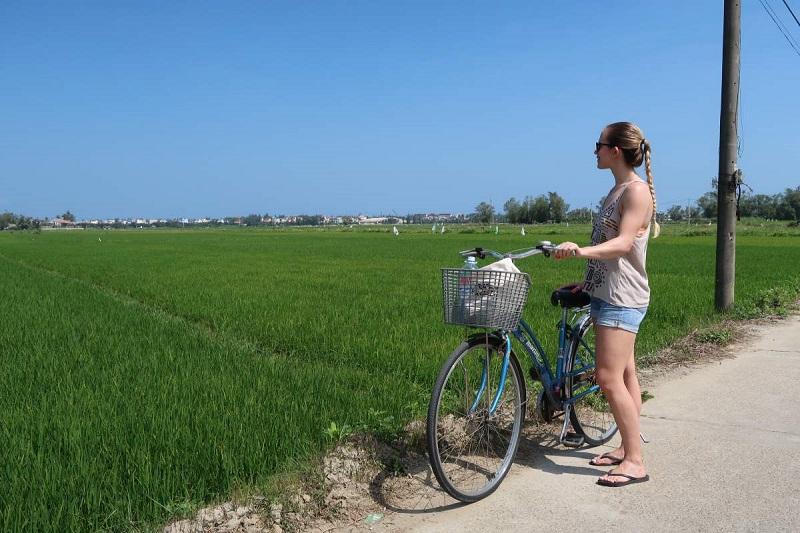 Faites une excursion à vélo
