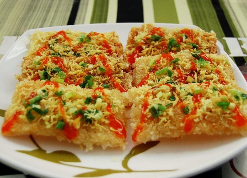 Gratin de riz de Ninh Binh