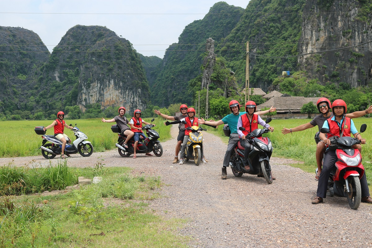 Hanoi à Ninh Binh en moto