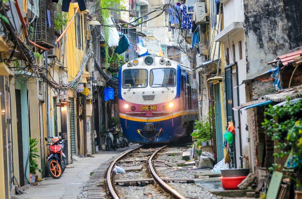 Hanoi à Ninh Binh en train