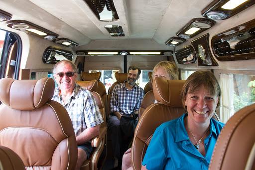 Limousine bus de Hanoi à Sapa
