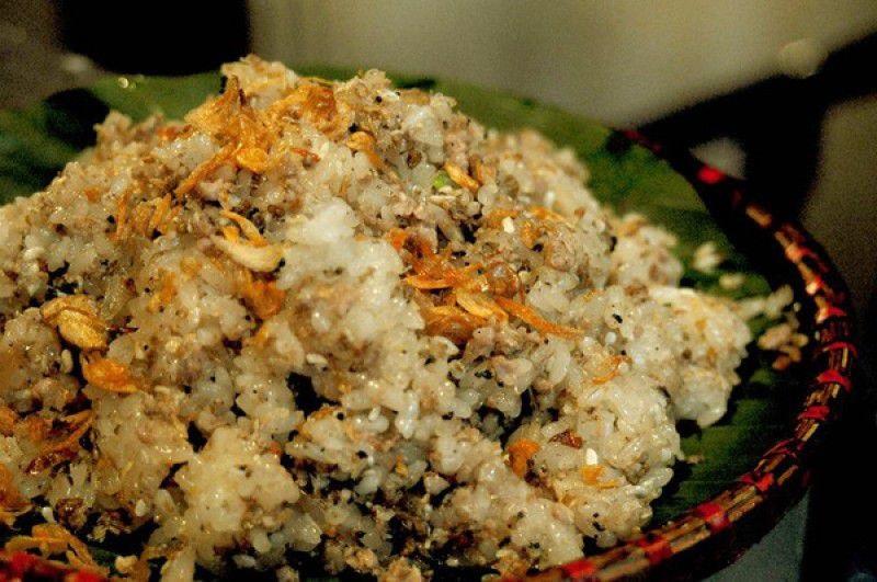 Riz gluant aux œufs de fourmis