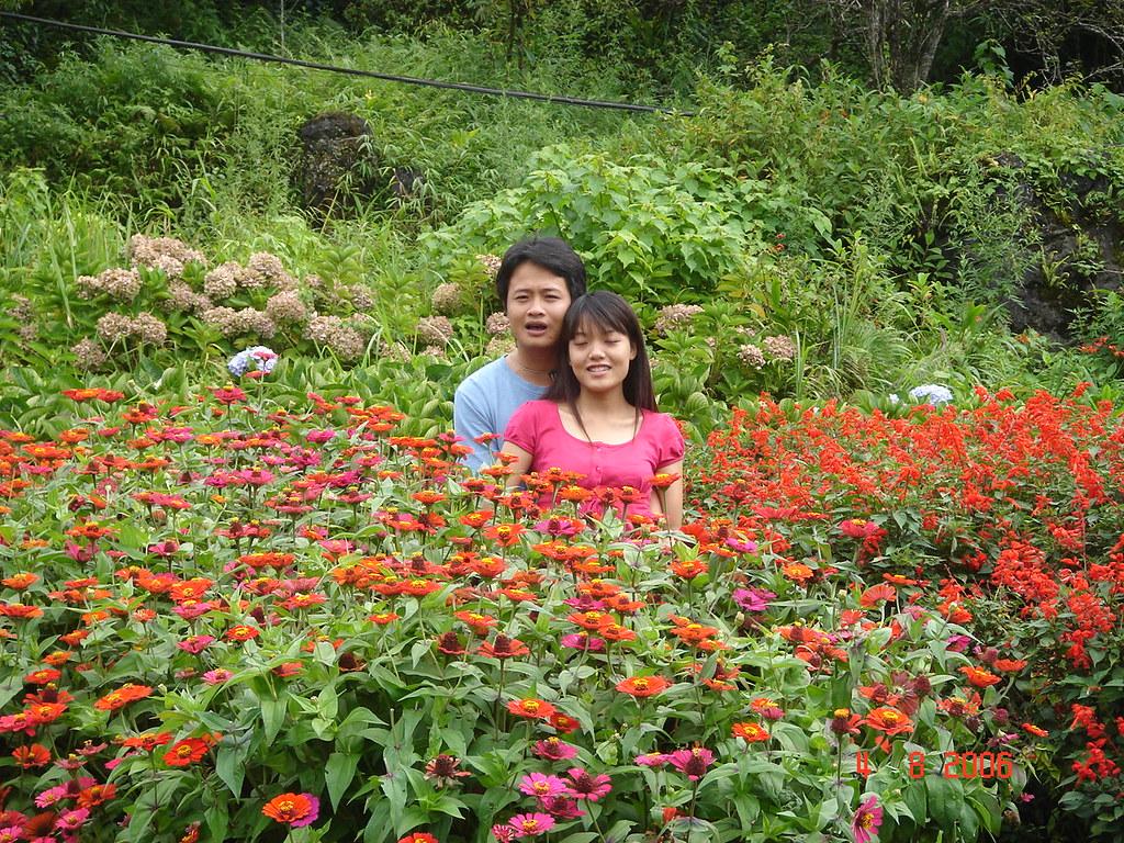 Visite du jardin de fleurs de Ham Rong sapa
