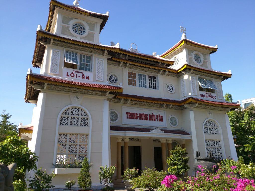 Visite du temple Cao Dai Da Nang
