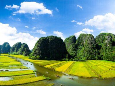Visiter Tam Coc ou baie d'Halong terrestre