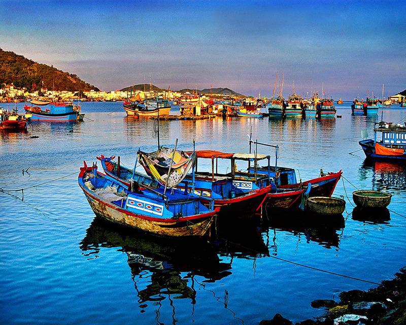 Visitez un village de pêcheurs