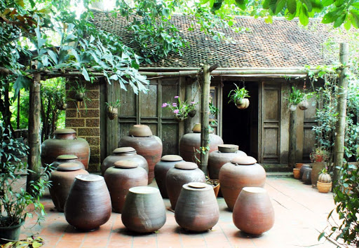 itinéraire de visiter les environs de Hanoi