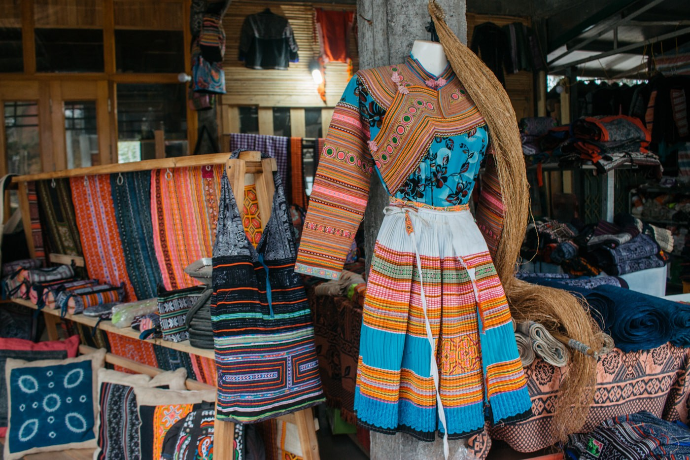 objets d'artisanat local sapa