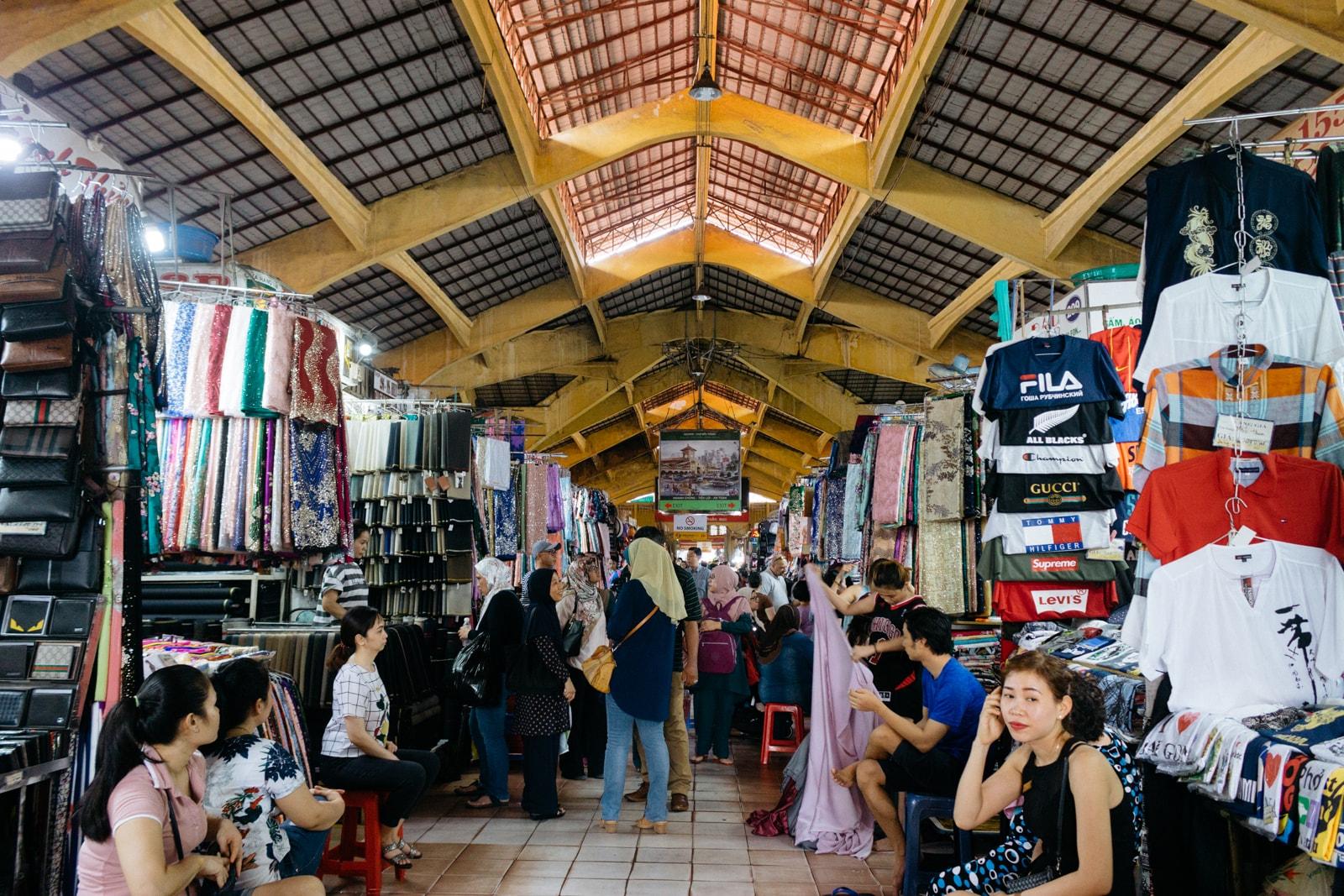 Achats à Ho Chi Minh ville – Saigon Vietnam