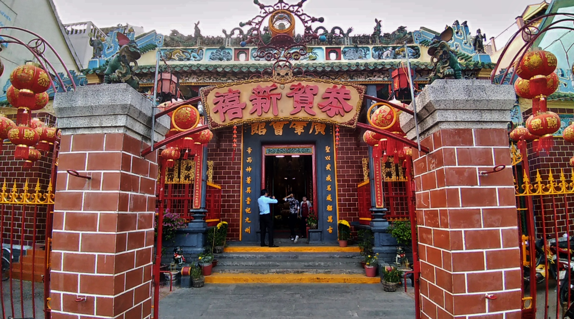 Admirer la pagode d'Ong