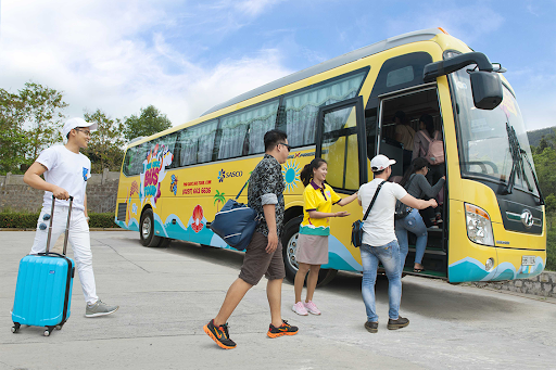 Bus de l'aéroport de Phu Quoc