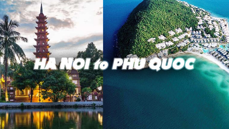 Comment se rendre à Phu Quoc de Hanoi