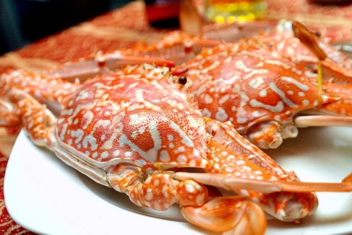 Crabe en fleur de Ham Ninh