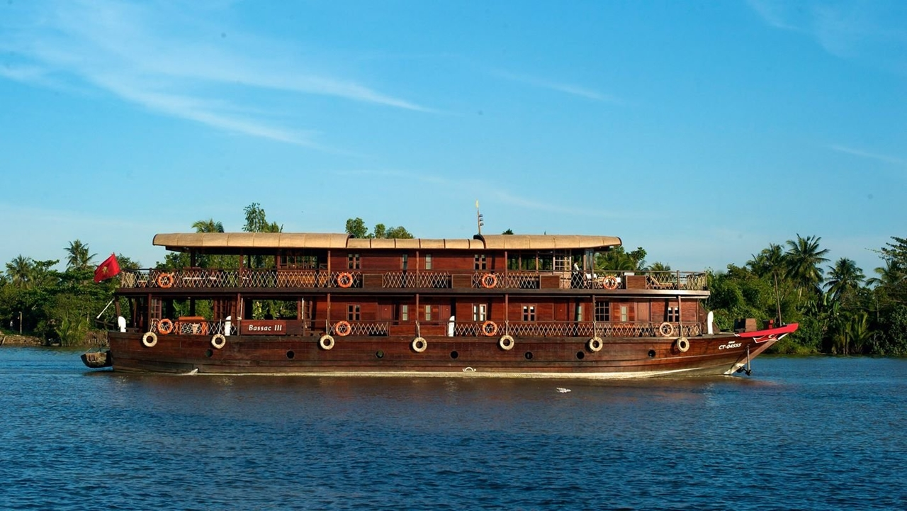 Croisière sur le Mékong avec le bateau Bassac cruise