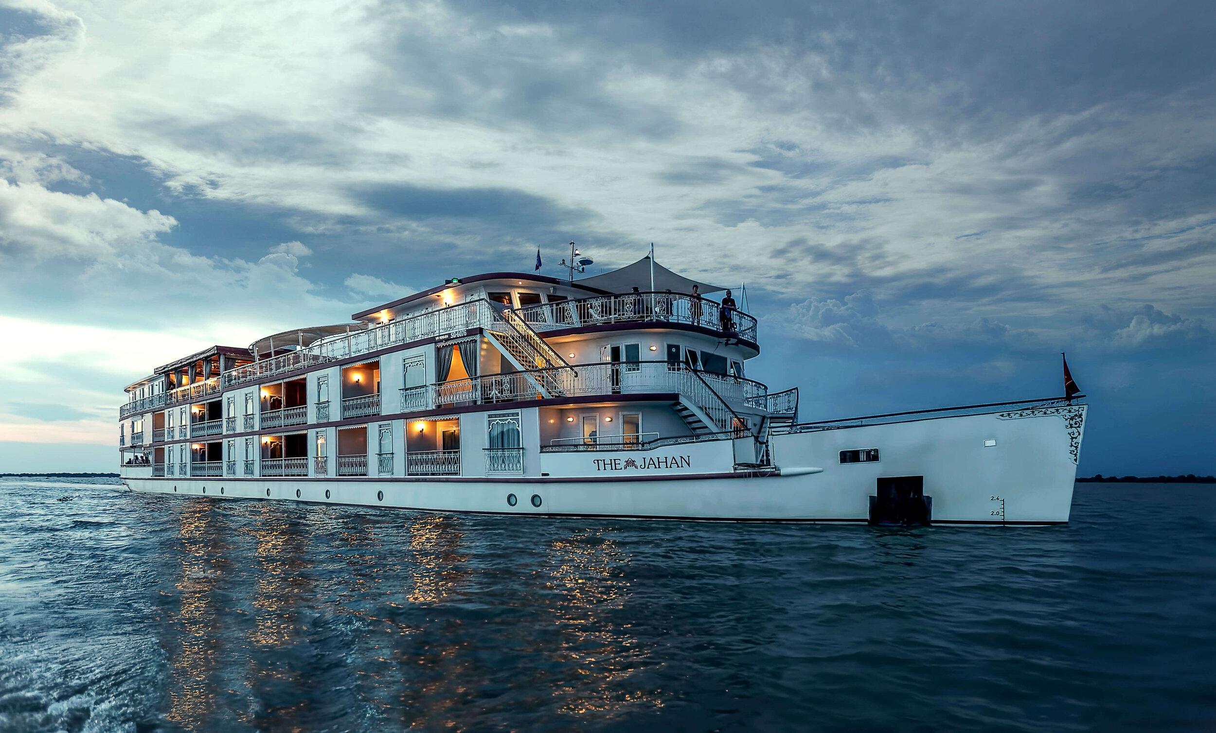 Croisière sur le Mékong avec le bateau Jahan cruise