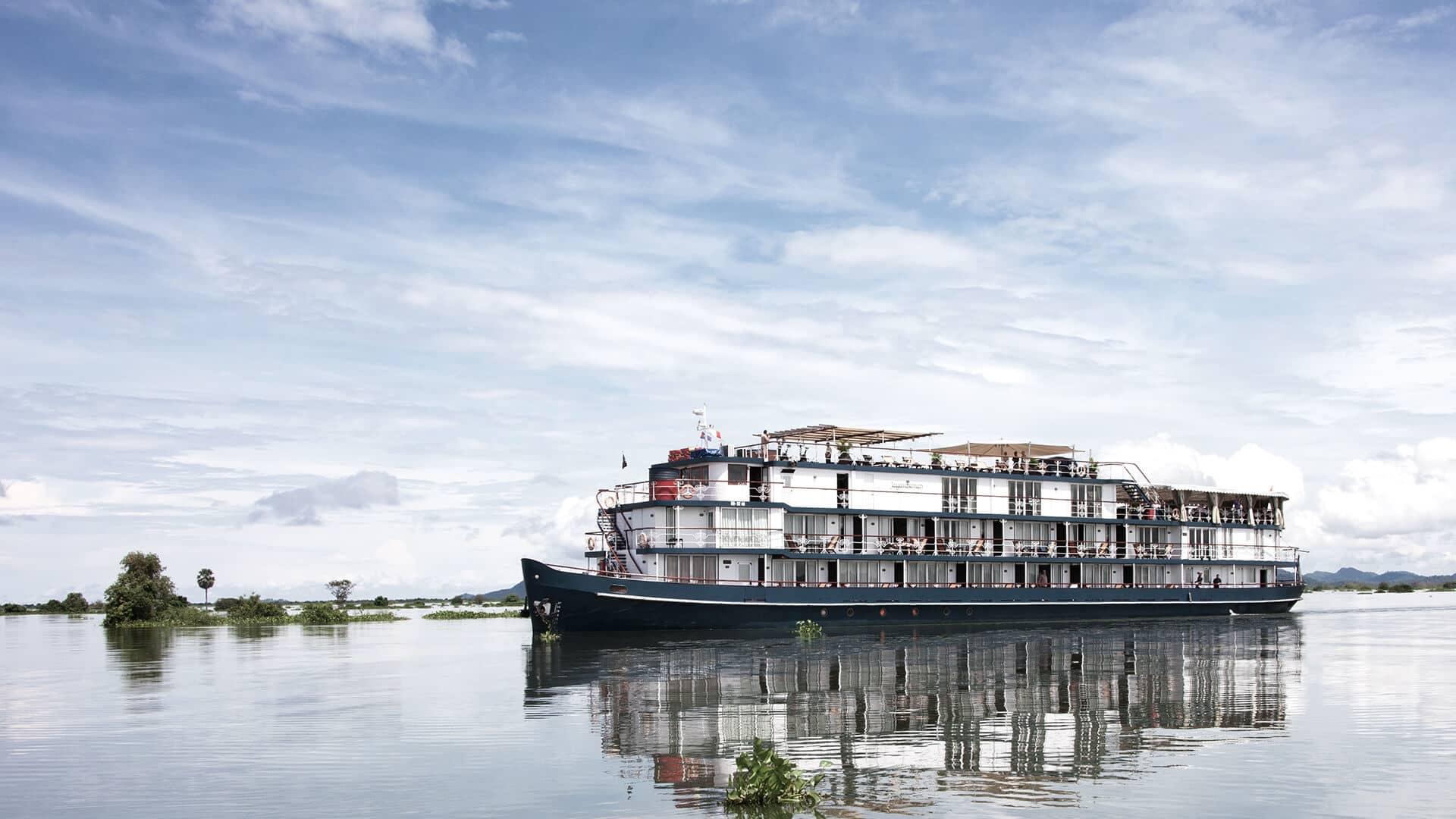 Croisière sur le Mékong avec le bateau Jayavarman cruise