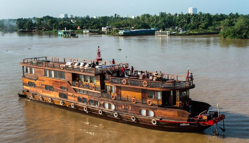 Croisière sur le Mékong avec le bateau Mekong Eyes Cruise