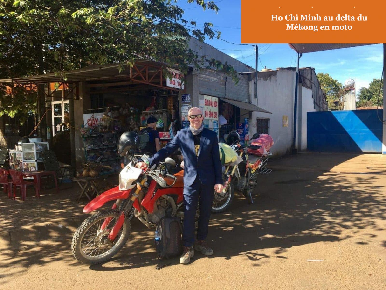 De Ho Chi Minh au delta du Mékong en moto