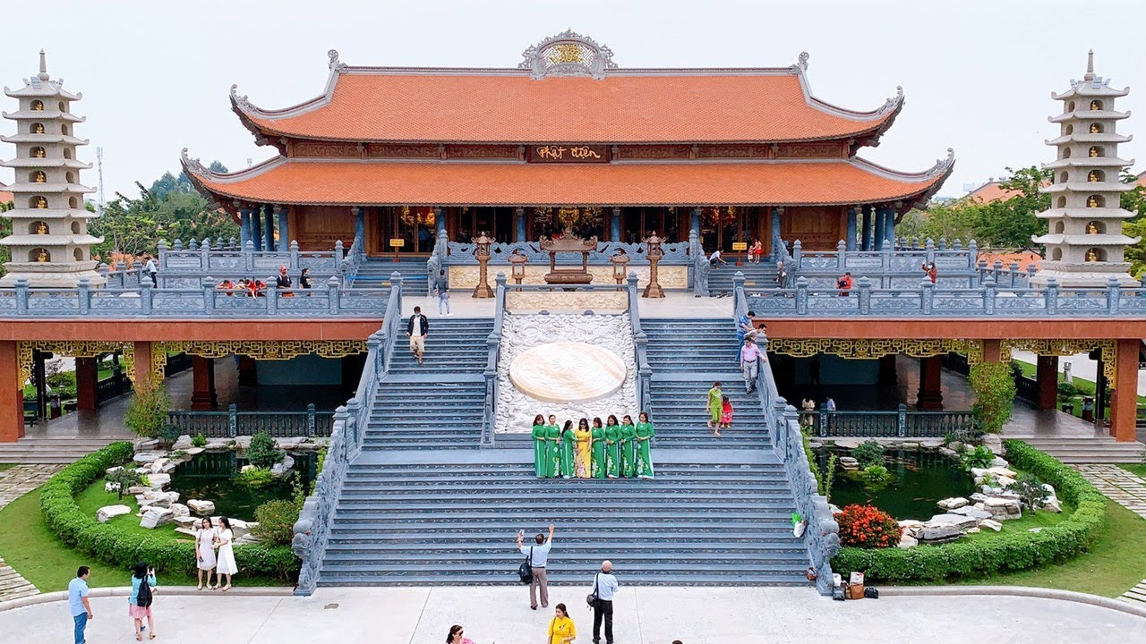 Découvrir la pagode Vinh Nghiem