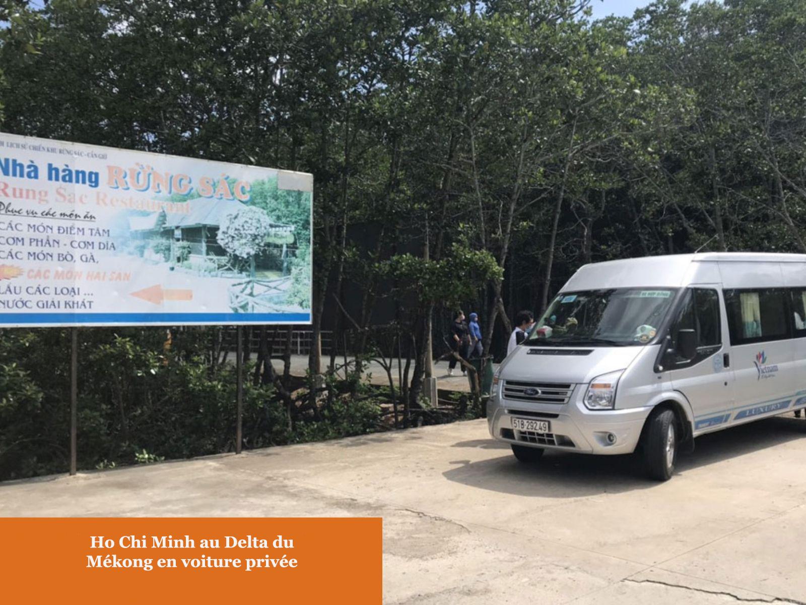 En voiture privée de Ho Chi Minh au Delta du Mékong